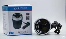 Автомобильный FM - модулятор в виде чашки с Bluetooth Blister case, фото 2