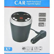 Автомобильный FM - модулятор в виде чашки с Bluetooth Blister case, фото 3