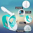 Маска для дайвинга Tribord Easybreath snorkeling mask, фото 2
