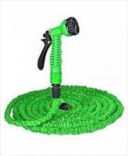 Компактный растягивающийся садовый шланг для полива MAGIC HOSE 15m-зеленый, фото 3