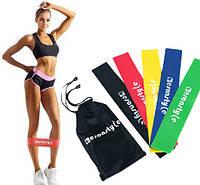 Набор резинок для фитнеса Esonstyle 5шт в комплекте в удобном мешочке