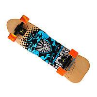 Скейт деревянный 823, наждак, колёса PU, Campaign (Канадский клен)
