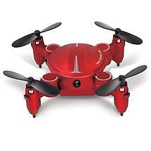 Карманный селфи-дрон Explorer 419 mini Original size quadrocopter, фото 3