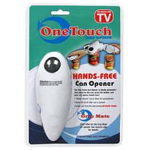 One Touch Hands консервный электрический нож автоматическая открывалка, фото 3