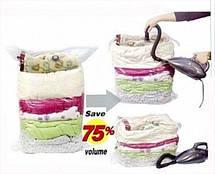 Вакуумные пакеты для хранения одежды Space Bag органайзер одежды 60*80 10шт, фото 3