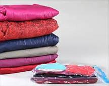 Вакуумные пакеты для хранения одежды Space Bag органайзер одежды 50*60 10шт, фото 3