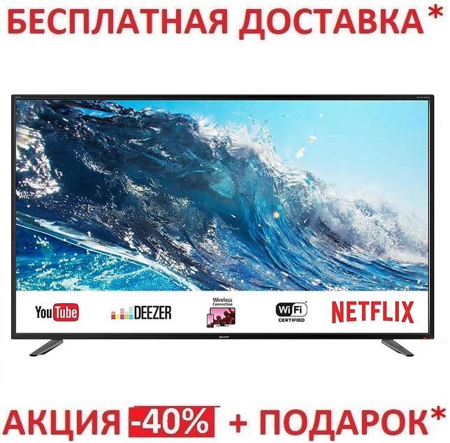 "4K UHD телевизор Sharp LC-43UI7252E (43"")Беспроводной интерфейс - с Wi-Fi"