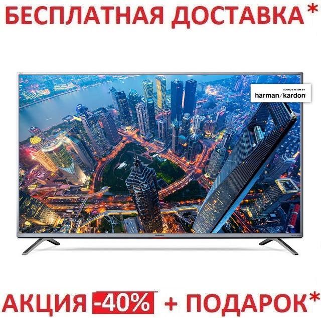 "4K UHD телевизор Sharp LC-49UI8872ESДиагональ экрана - 49"""
