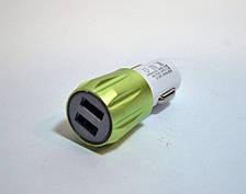 АЗУ автозарядка 2 USB SMART MINI Blister case переходник в машину, фото 3