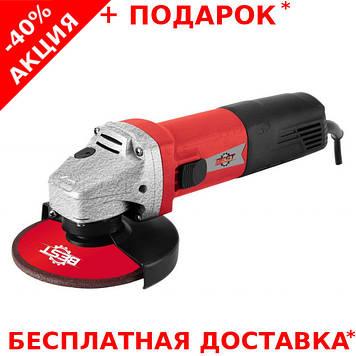 Профессиональная угловая шлифмашинка Best МШУ-125-1320 для слесарных работ