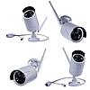 Набор видеонаблюдения (4 беспроводные камеры + сетевой видеорегистратор) 5G Kit WiFi 4ch NVR/DVR, фото 8