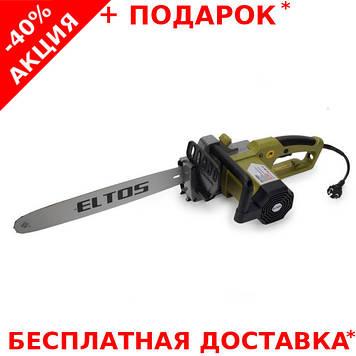 Электропила цепная  ELTOS ПЦ-2650 по дереву