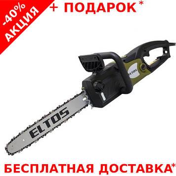 Электропила цепная  ELTOS ПЦ-2800 по дереву