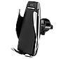Беспроводное зарядное устройство Smart Sensor S5 Black сенсорный автодержатель, фото 7