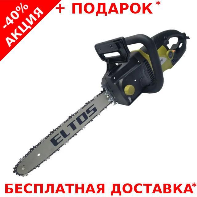 Электропила цепная  ELTOS ПЦ-2850 по дереву