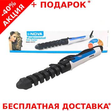 Профессиональная плойка NOVA Professional Hair Cutter NHC-5377 для завивки волос