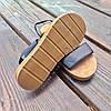 Чорні босоніжки, шльопанці тапки жіночі сандалі на резинці Чорні босоніжки шльопанці тапки сандалі, фото 4