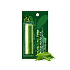 Бальзам для губ увлажняющий ROREC Зеленый чай 4г