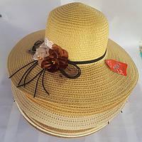 Женская шляпа большие поля