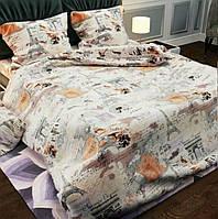 Комплект постельного белья Комфорт-текстиль Парижанка бязь