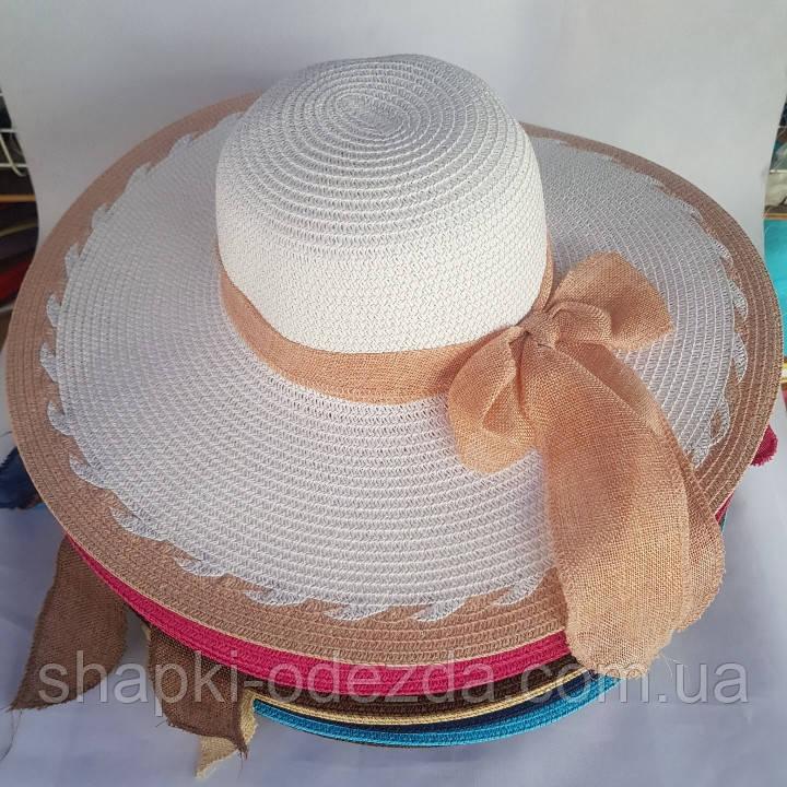 Женская шляпа сетка