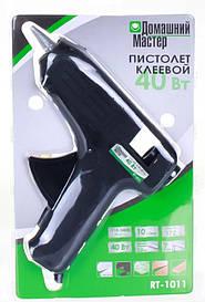 Пістолет клейовий Домашній Майстер ,11 мм, 40W - 220V// SPARTA