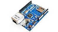 Веб-сервер шилд Ethernet Shield W5100 Arduino (14978)