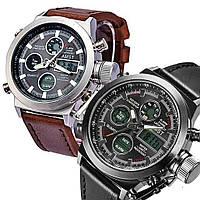 Мужские кварцевые армейские часы AMST / спортивные / тактические / наручные