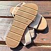 Бежеві босоніжки, шльопанці тапки жіночі сандалі на резинці бежеві босоніжки шльопанці сандалі !@#, фото 5