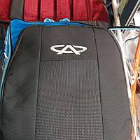 Чехлы на Чери QQ 2003- / авто чехлы Chery QQ (стандарт)