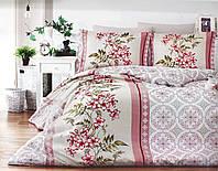Двуспальный комплект постельного белья 180*220 сатин (14660) TM КРИСПОЛ Украина