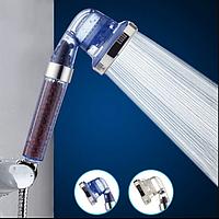 Лейка-насадка для душа SPA ENERGY c фильтром и турмалиновыми гранулами 3в1