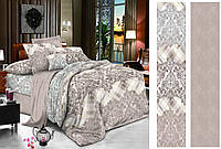 Двуспальный комплект постельного белья 180*220 сатин (12429) TM КРИСПОЛ Украина