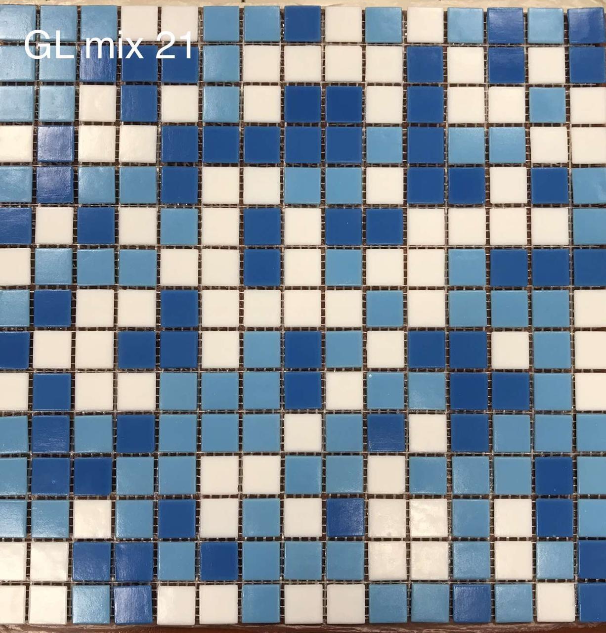 Мозаика стеклянная Vivacer микс 2*2 GLmix21