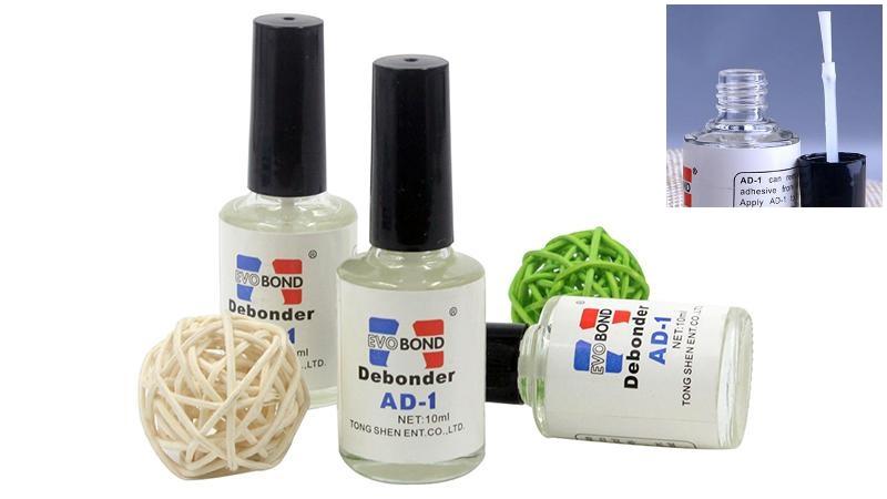 Растворитель дебондер Debonder AD-1 жидкость для снятия клея 10мл (158