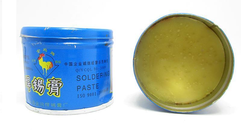Флюс паста кислотная для пайки 100г (15831)