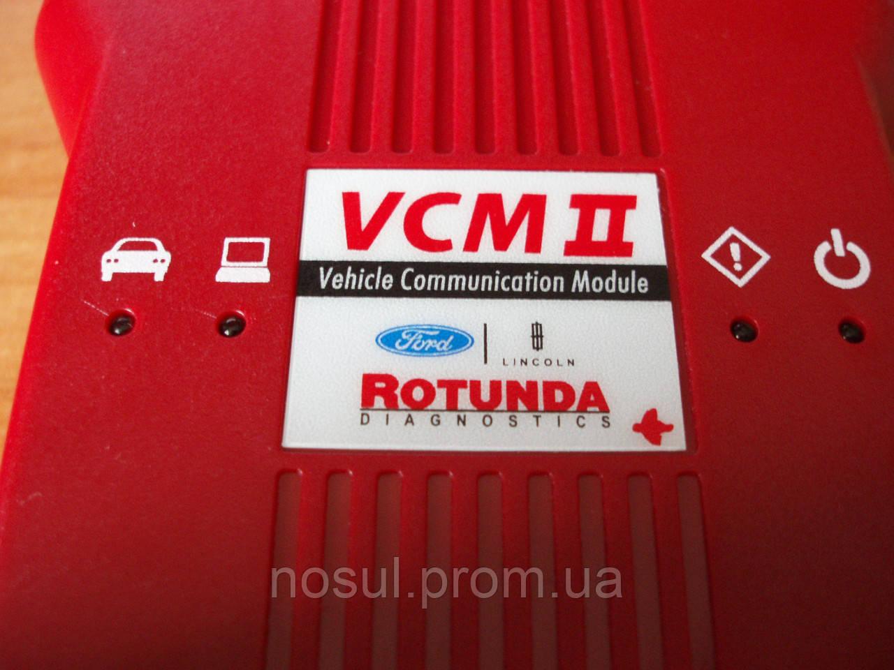 Rotunda Ford Mazda VCM2 II VCM2 PLUS IDS VCX2 OEM диллерский cканер Мазда-Форд v96.03 одноплатный зеленый (в п