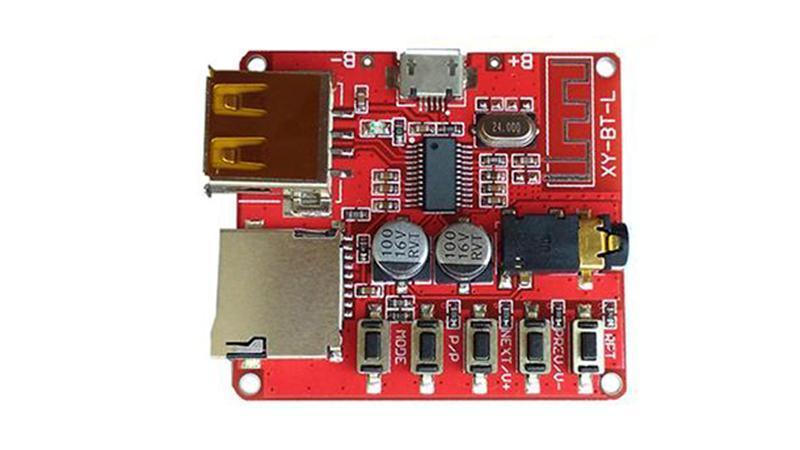 Модуль декодер MP3 Bluetooth 4.1 аудио приемник с USB (15871)