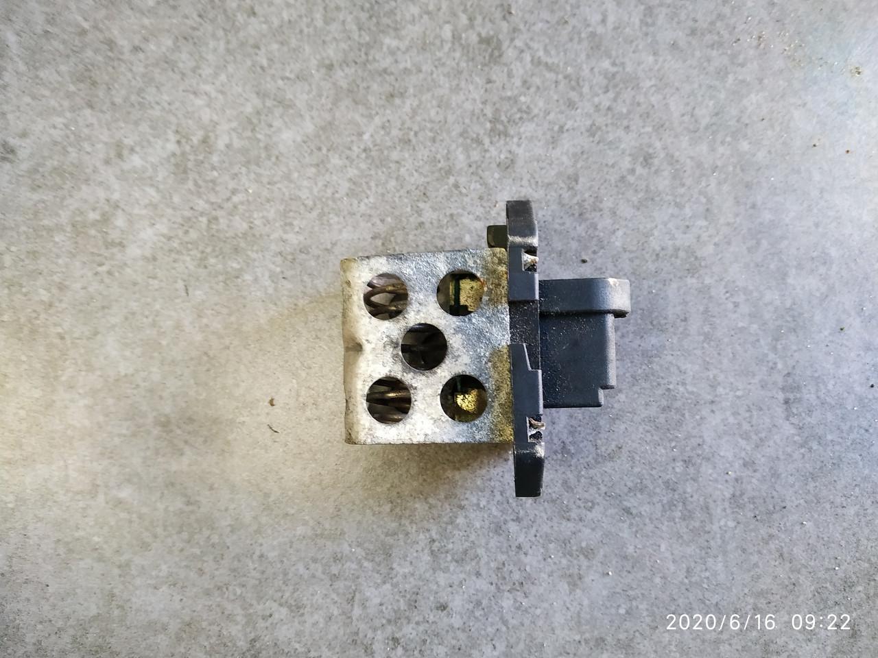 Резистор вентилятора охлаждения Рено Канго 2 / Дастер / Меган Сценик б/у