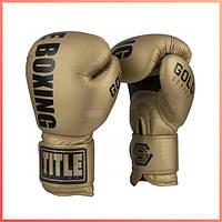 Боксерские тренировочные перчатки TITLE GOLD TRAINING