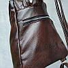 Женский рюкзак с клапаном коричневый Monsen  10Ko1113-brown, фото 5
