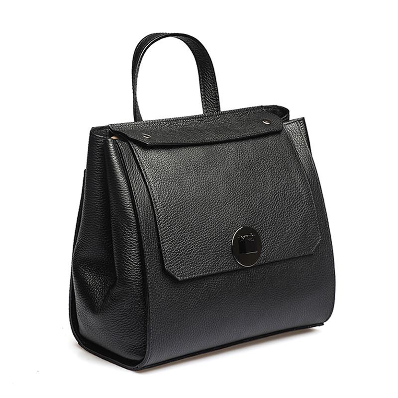 Женский кожаный рюкзак Ricco Grande 11787-black