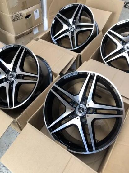 Диски Mercedes C E S CLS GLC GLE GLA GLK ML GL CLA V class R18