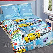 """Детский комплект постельного белья """"Суперкар"""", поплин"""
