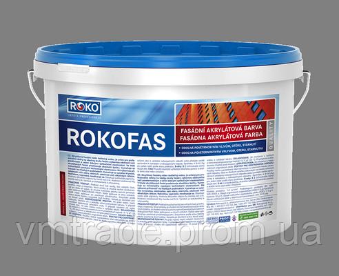 Фасадная краска Rokofas Acrylic15 кг