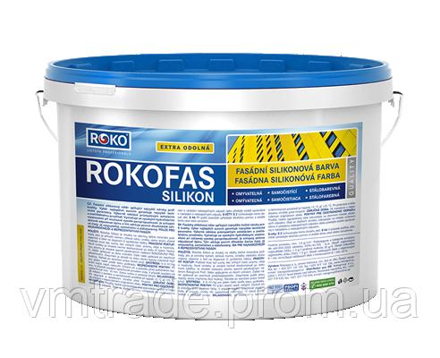 Краска силиконовая Rokofas Silikon 7,5 кг