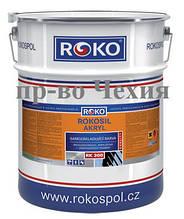 Краска для крыш антикоррозийная Rokosil akryl RK 300, 10.3кг