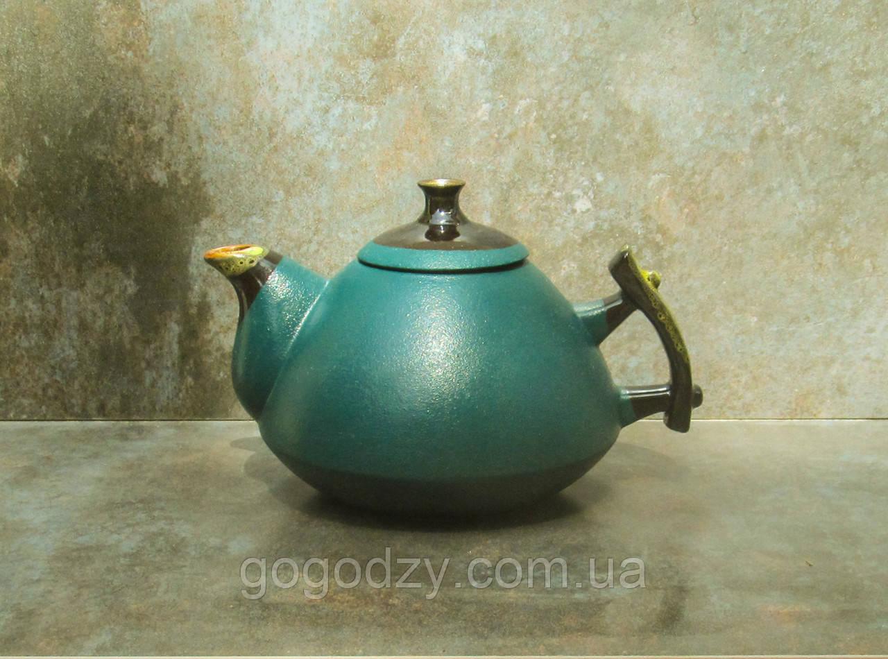 Чайник Ґорґани 1 л. зелений