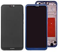 Дисплей для Huawei P20 Lite (ANE-L21, ANE-LX1), Nova 3e, модуль в сборе (экран и сенсор), с рамкой, оригинал, фото 1