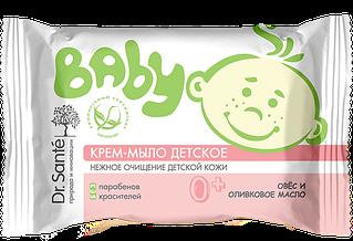 Мило дитяче Овес, оливкова олія 90гр Вaby*48
